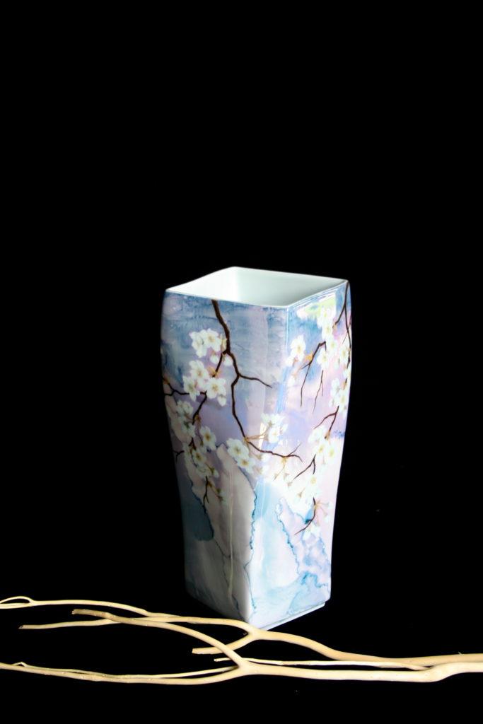 Vase Cerisiers du Printemps