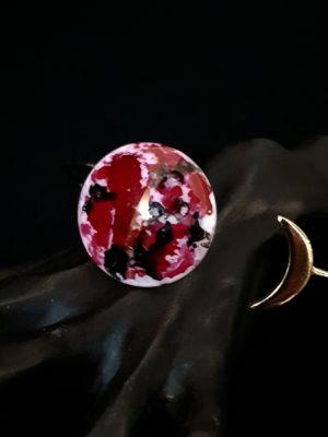 Bracelet Eclipse de Lune Ruby et Or