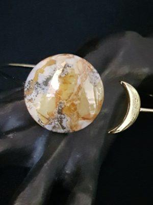 Bracelet Eclipse de Lune Jaune et Or